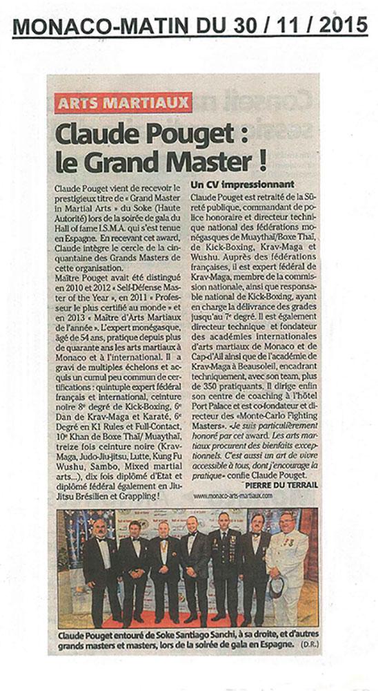 2015 grand master