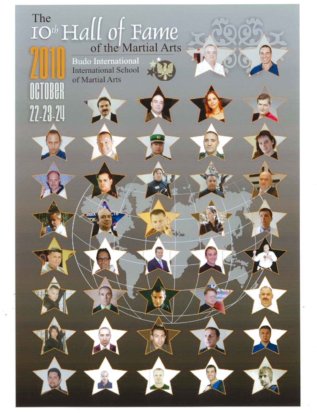 2010 AFFICHE 10eme HALL OF FAME