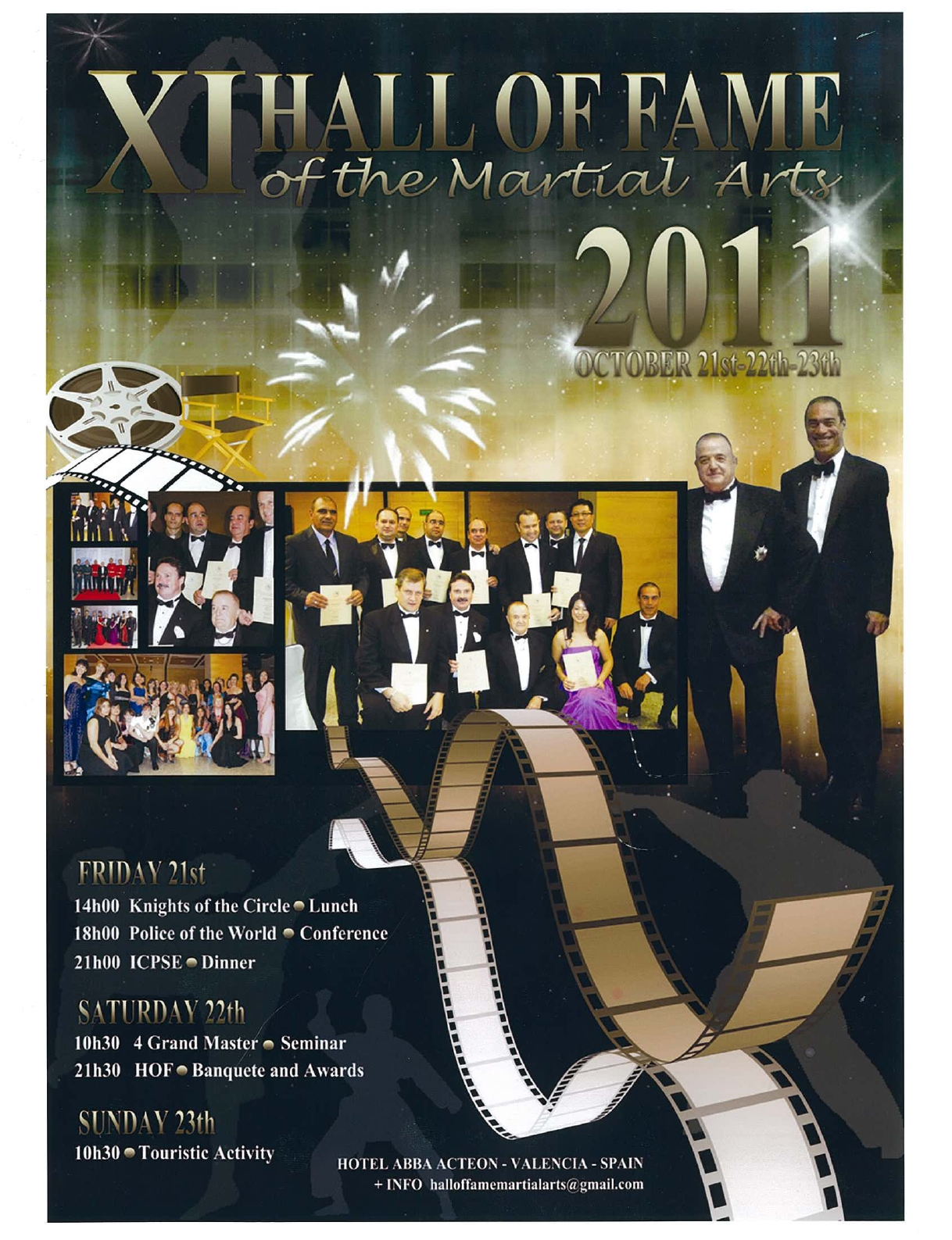 2011 AFFICHE 11eme HALL OF FAME