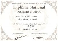 18 - MIXED MARTIAL ARTS  Monitorat National